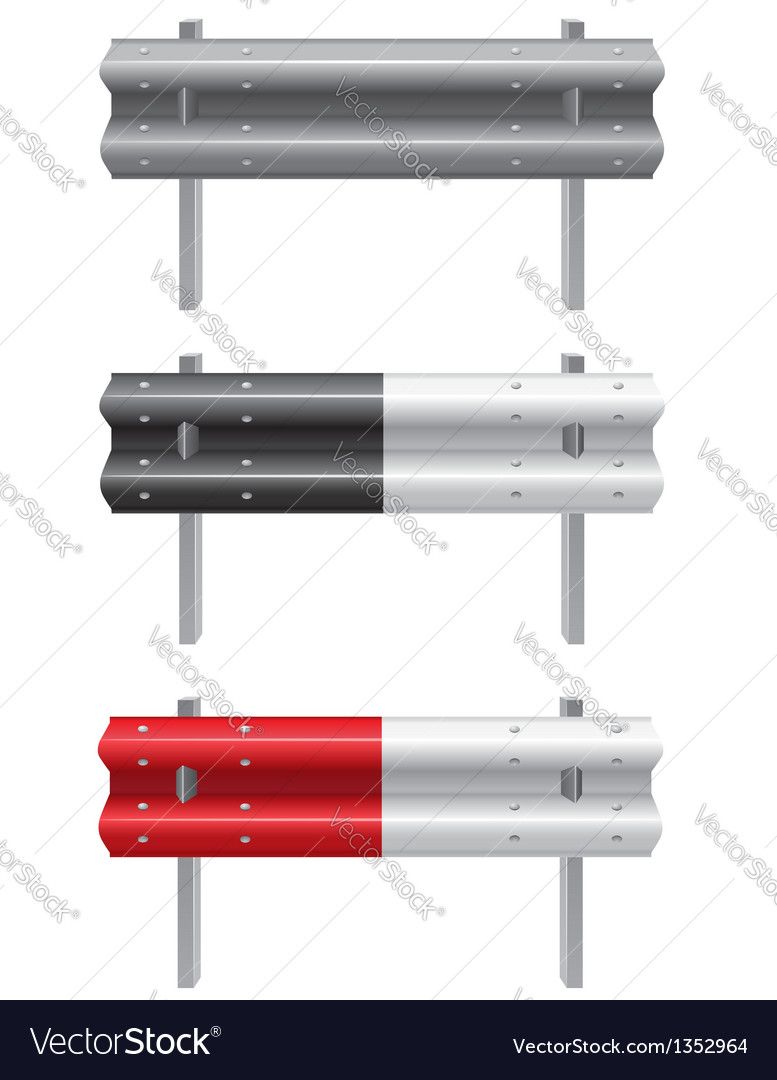 Road barrier 01 vector | Price: 1 Credit (USD $1)