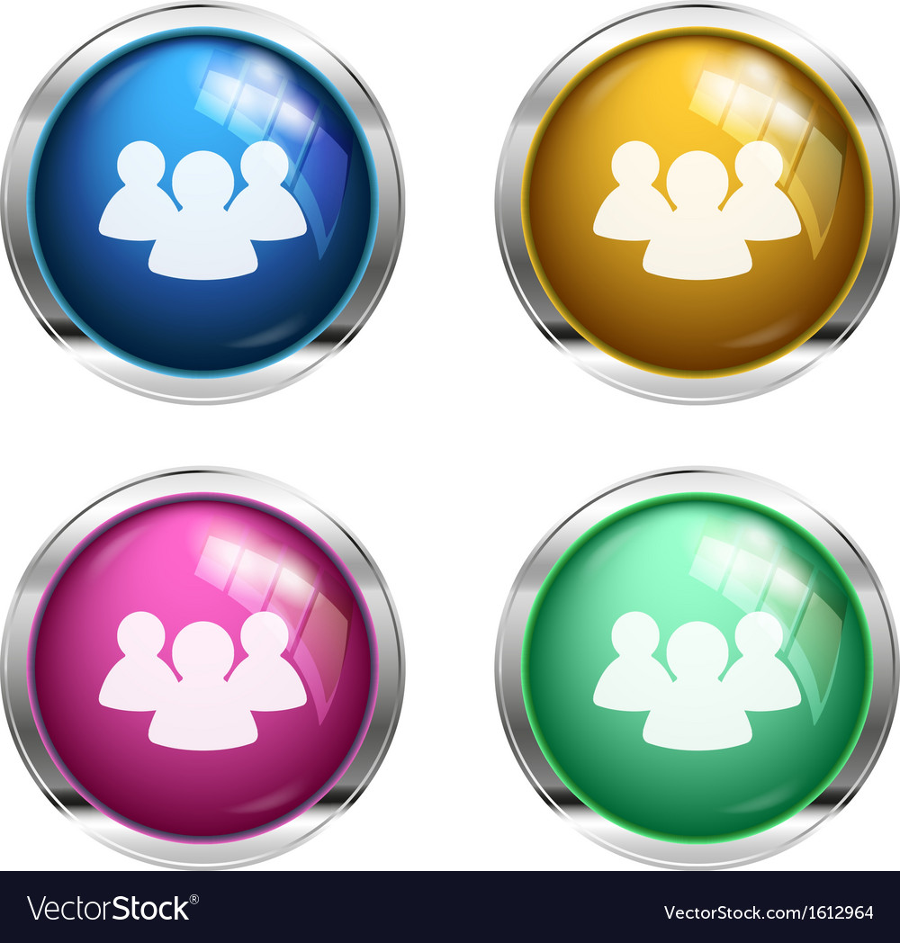 Shiny forum  chat buttons vector   Price: 1 Credit (USD $1)