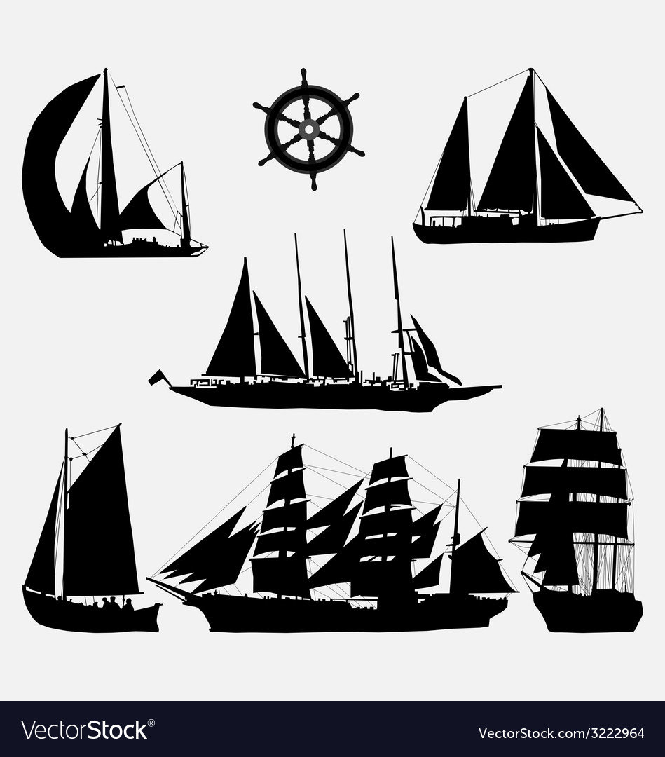 Ships and rudder vector | Price: 1 Credit (USD $1)