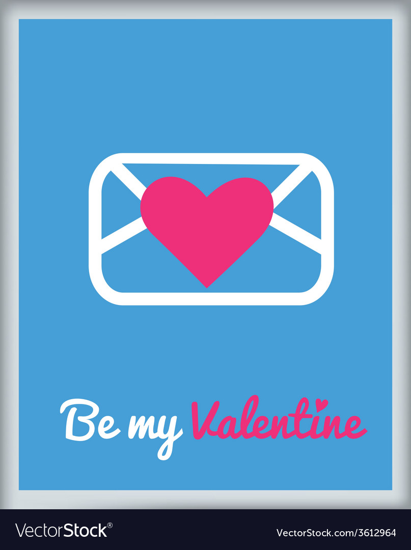 Stvalentine icons card 6 vector | Price: 1 Credit (USD $1)