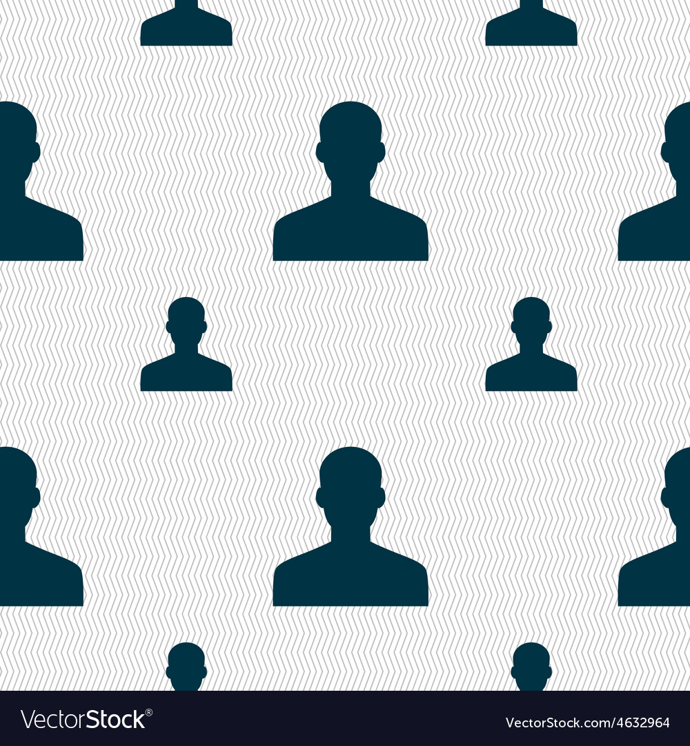 User person log in icon sign seamless pattern with vector   Price: 1 Credit (USD $1)