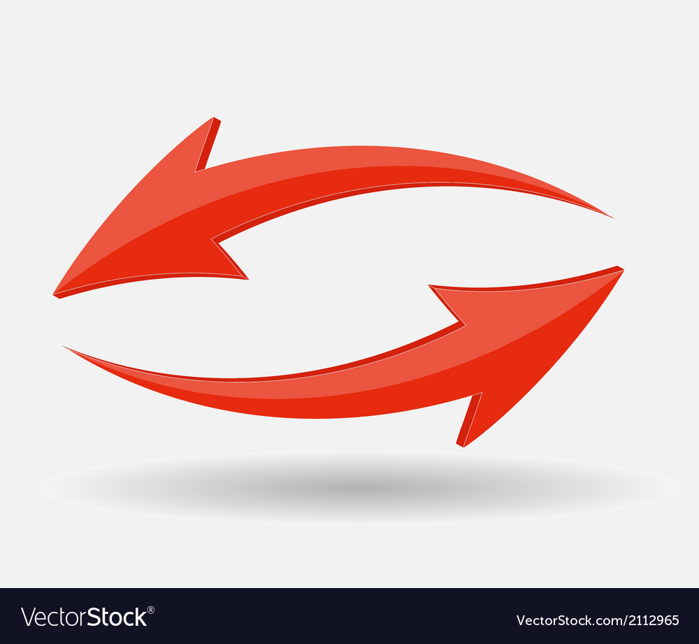 Arrow icon sign vector | Price: 1 Credit (USD $1)
