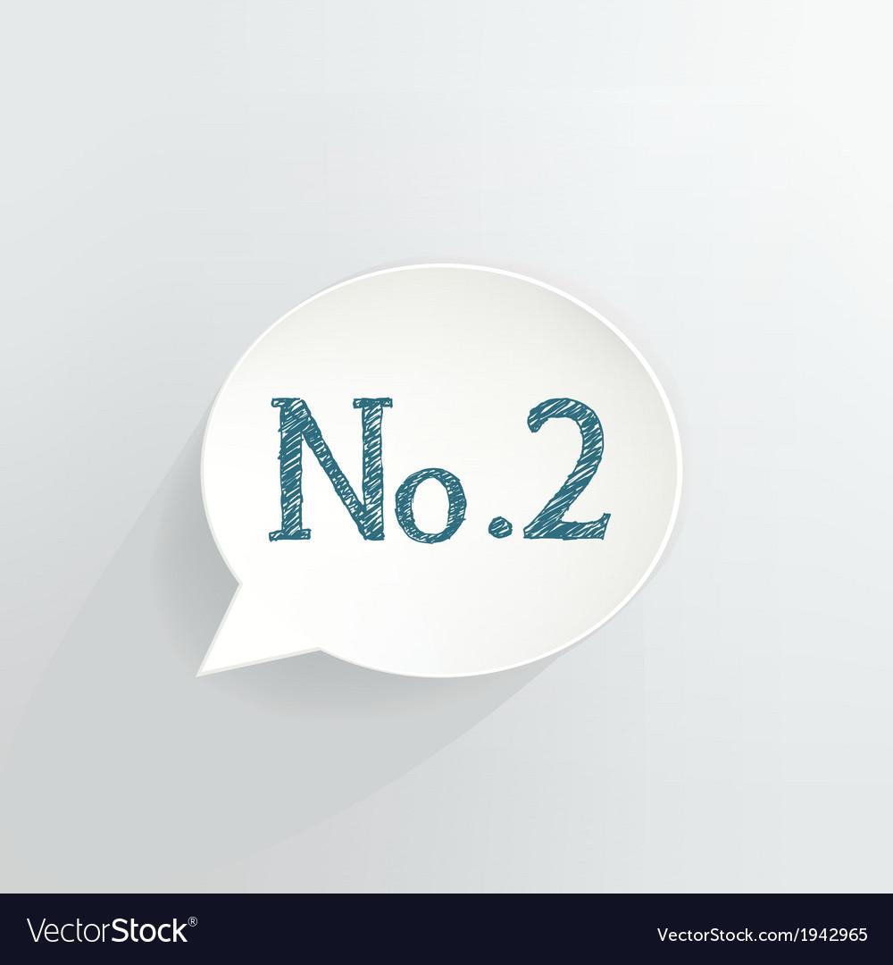 No2 vector | Price: 1 Credit (USD $1)