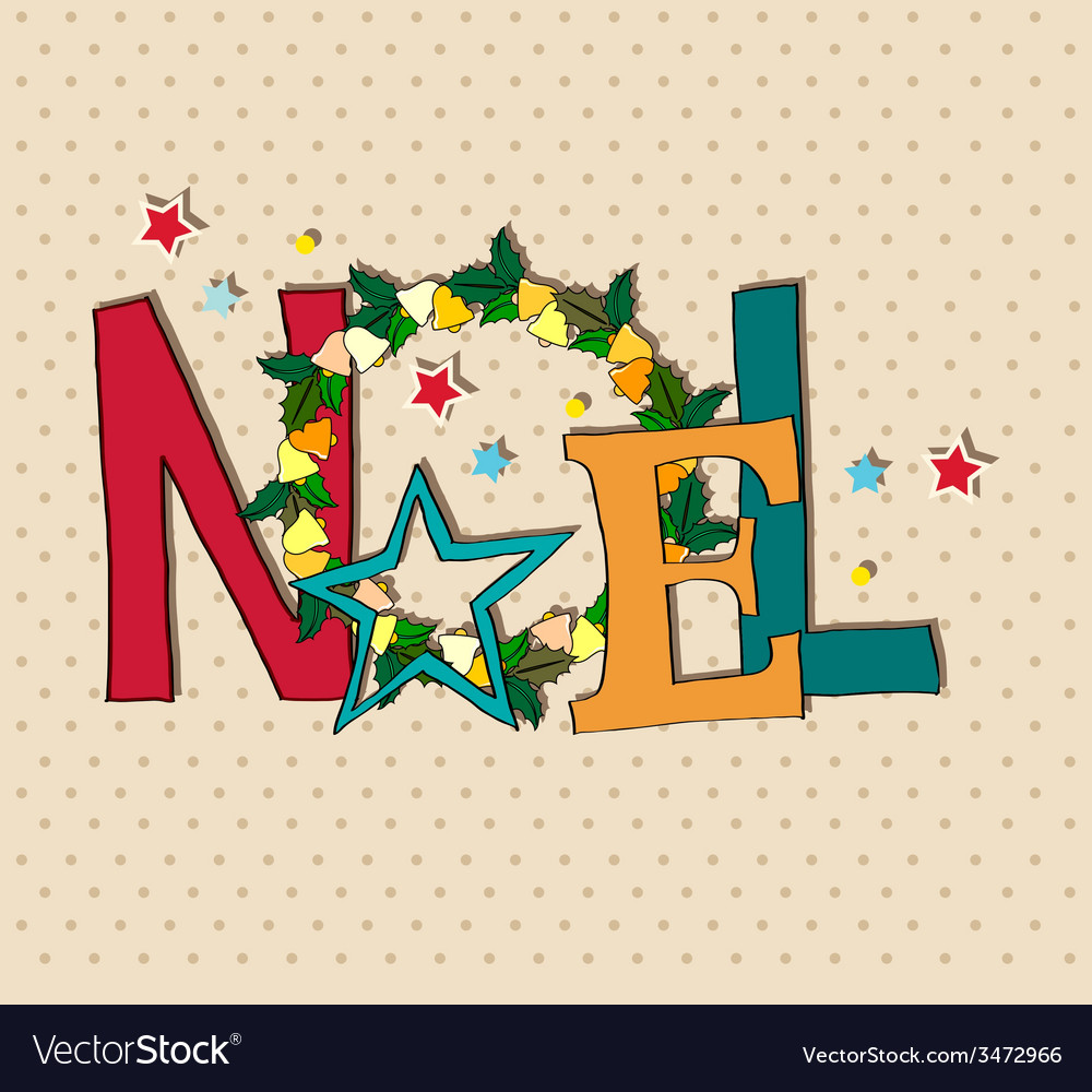 Noel vector | Price: 1 Credit (USD $1)