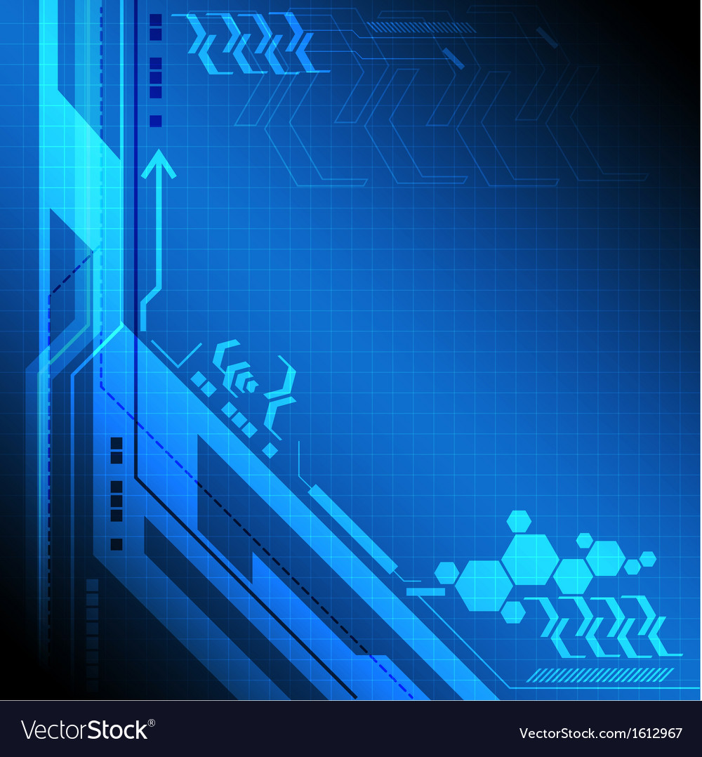 Blue digital technology background vector | Price: 1 Credit (USD $1)