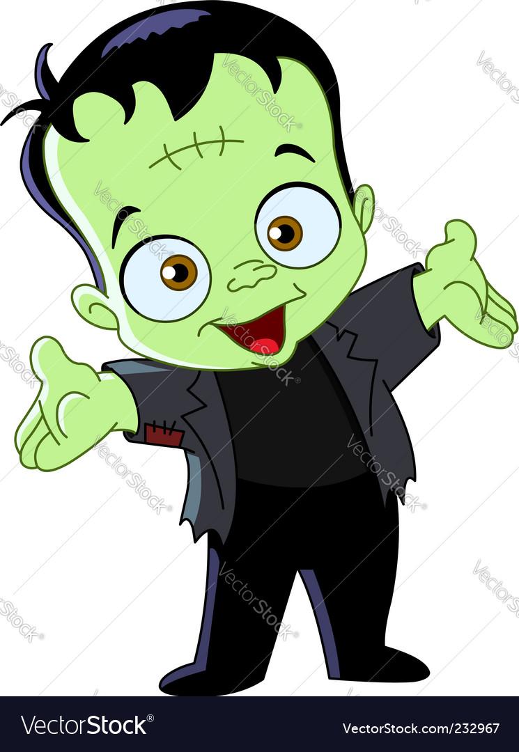 Frankenstein kid vector | Price: 1 Credit (USD $1)