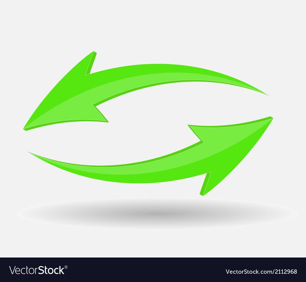 Arrow icon sign vector | Price: 1 Credit (USD $1)