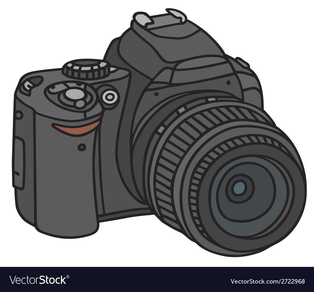 Photographic camera vector | Price: 1 Credit (USD $1)