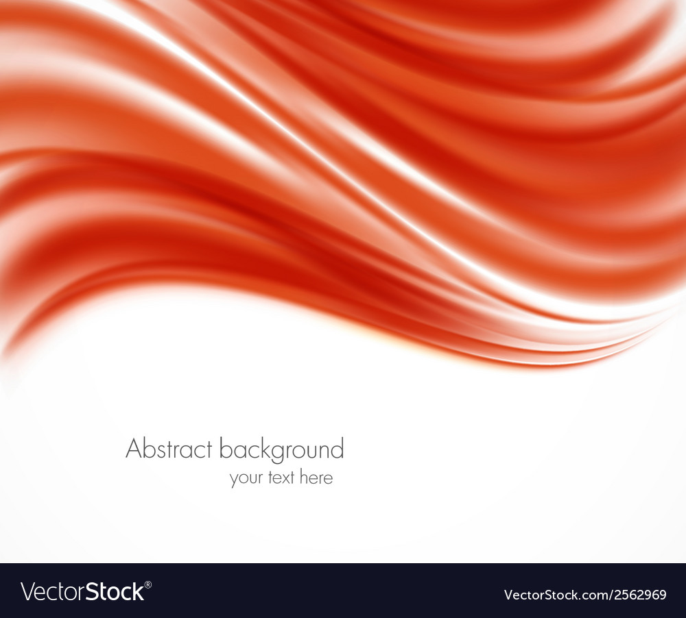 Abstract red wavy backround vector | Price: 1 Credit (USD $1)