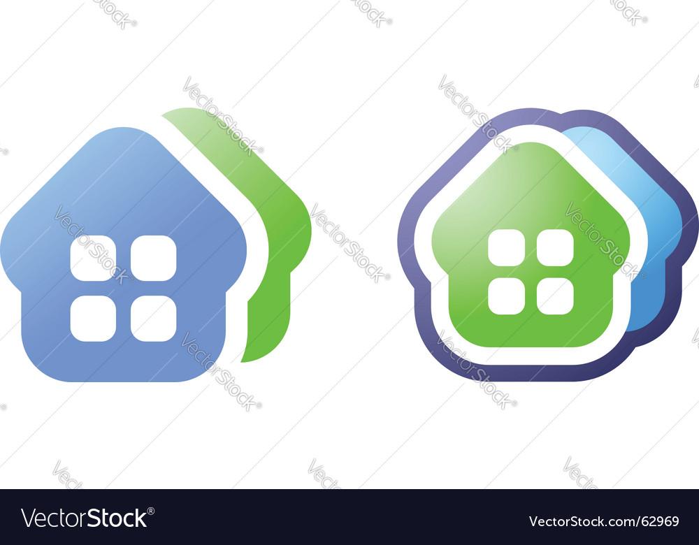 Home icon vector | Price: 1 Credit (USD $1)