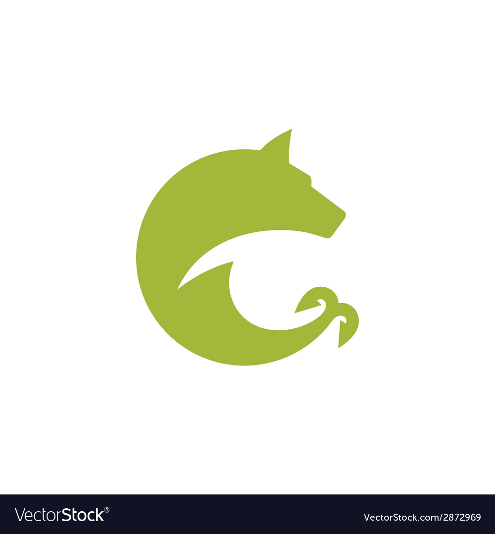 Hunting and fishing sign vector | Price: 1 Credit (USD $1)