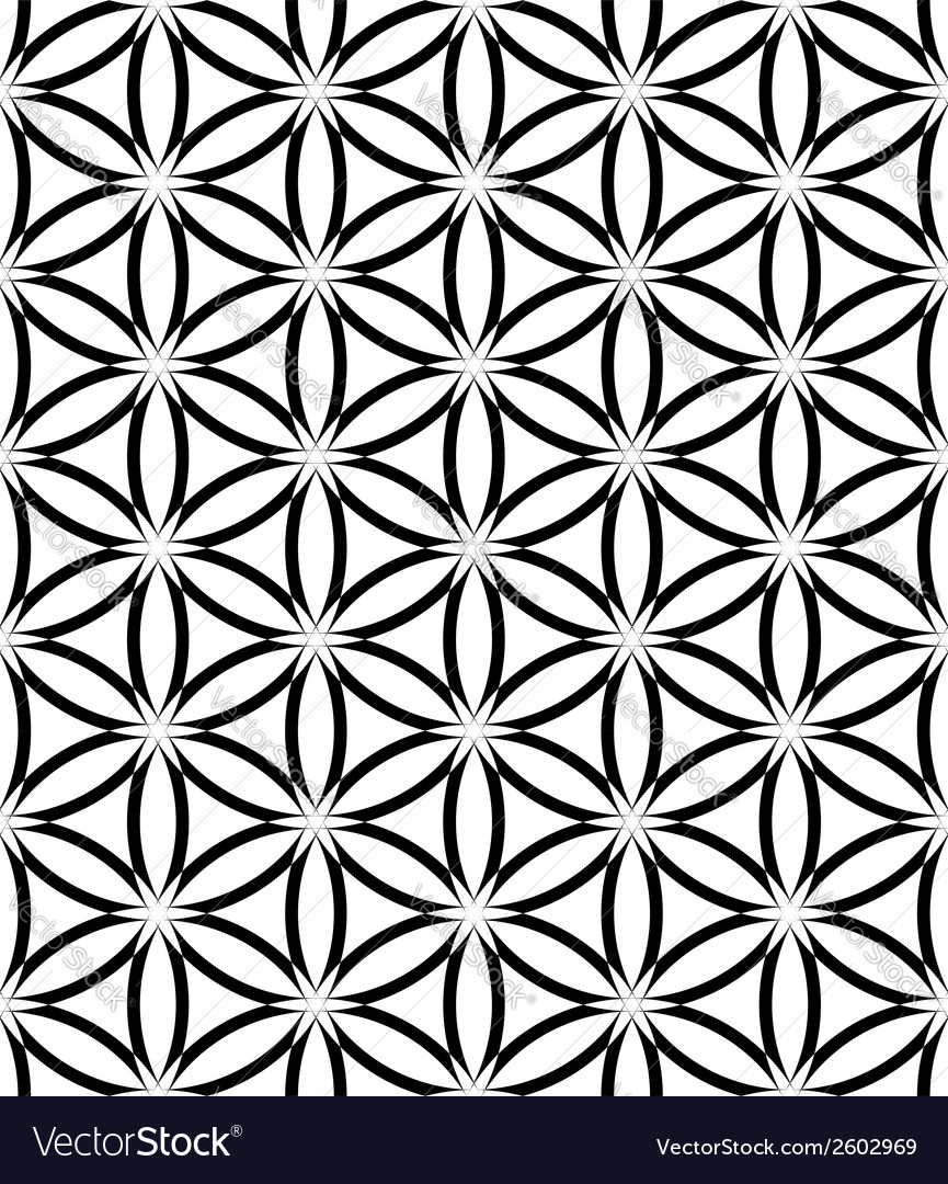 Seamless latticed lacy pattern vector | Price: 1 Credit (USD $1)