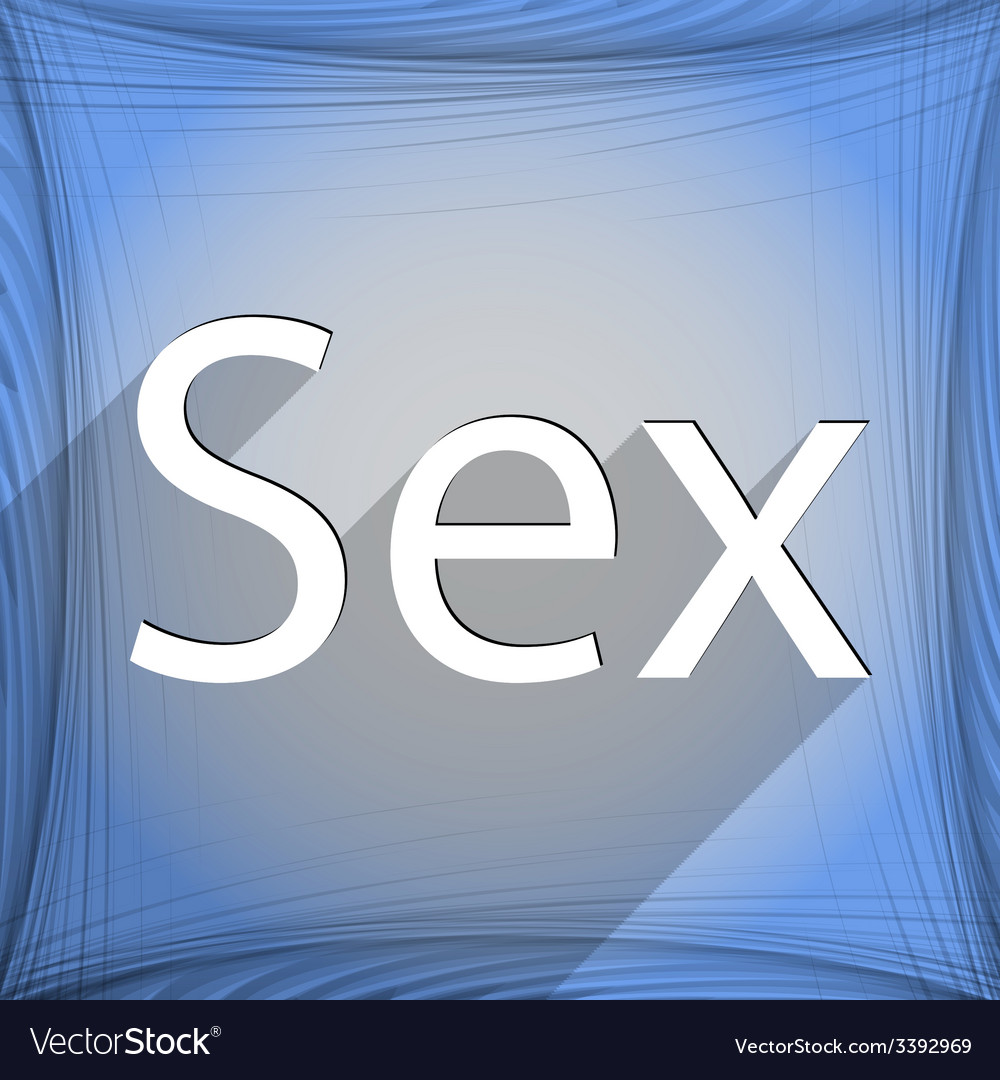Sex icon symbol flat modern web design with long vector | Price: 1 Credit (USD $1)