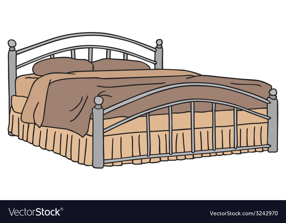 Big bed vector | Price: 1 Credit (USD $1)