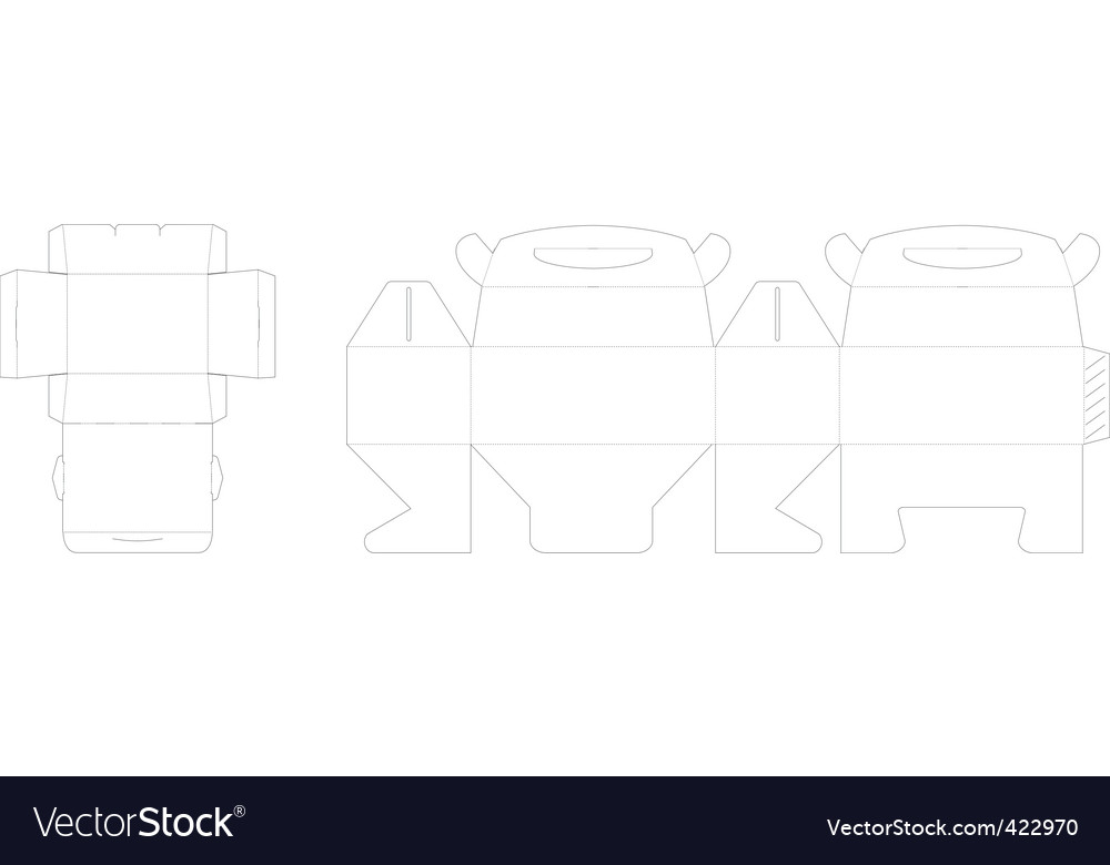 Box pattern vector | Price: 1 Credit (USD $1)