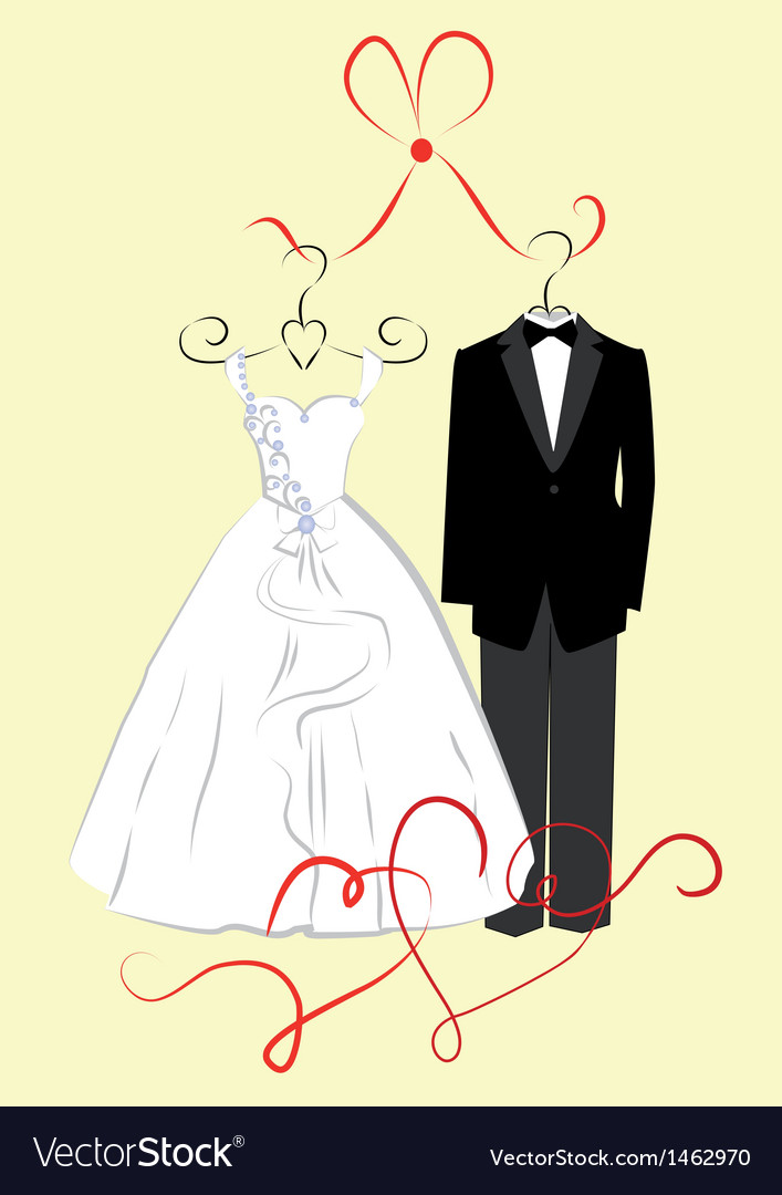 Clothing for weddings vector | Price: 1 Credit (USD $1)