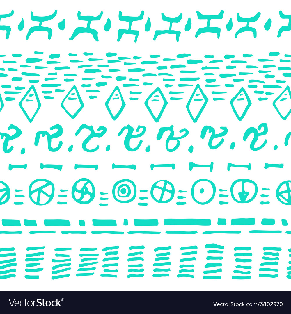 Horizontal seamless pattern background with vector | Price: 1 Credit (USD $1)
