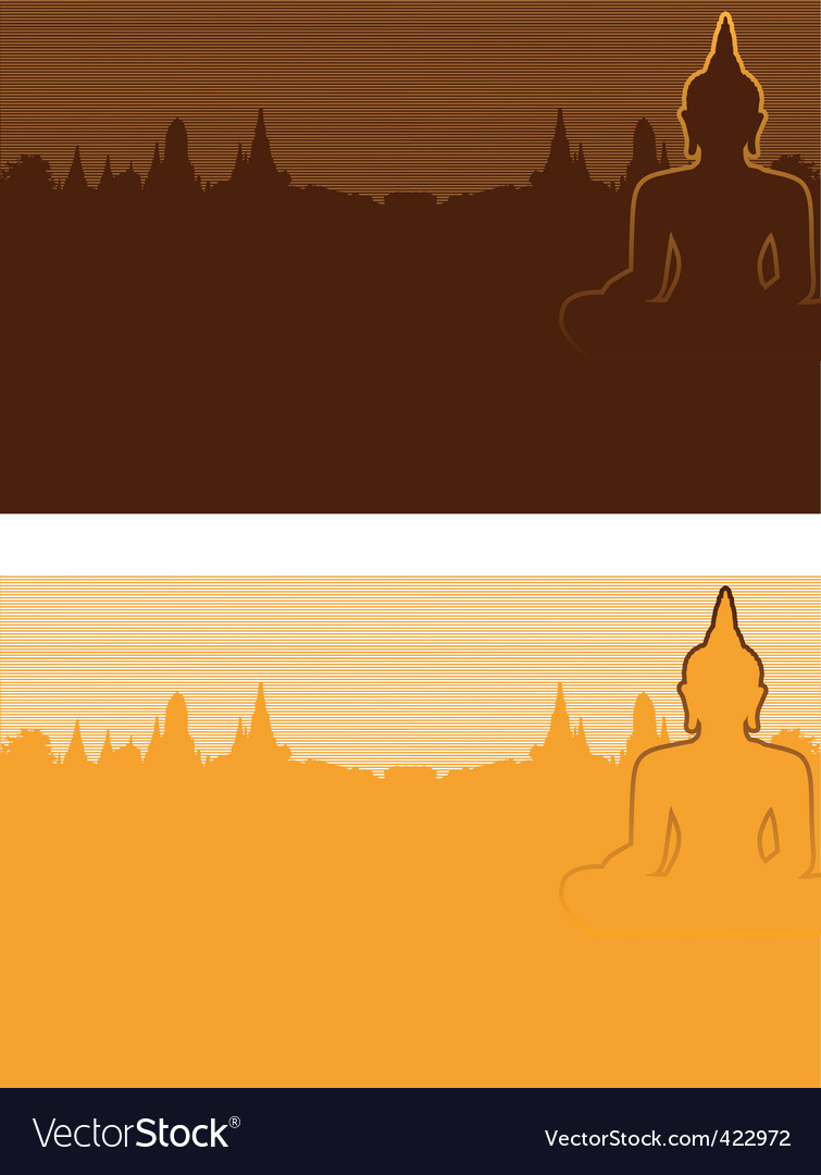 Buddhism vector | Price: 1 Credit (USD $1)