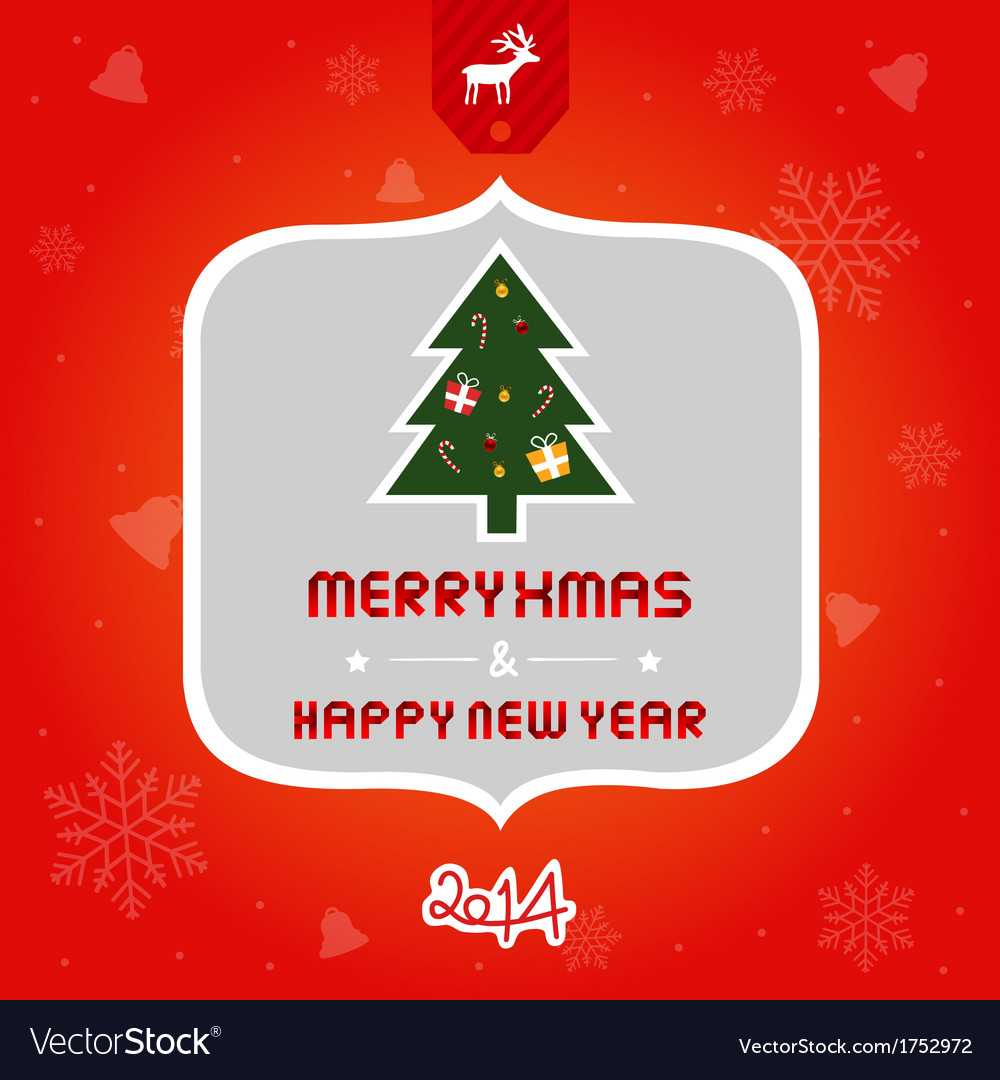 Christmas greeting card2 vector | Price: 1 Credit (USD $1)