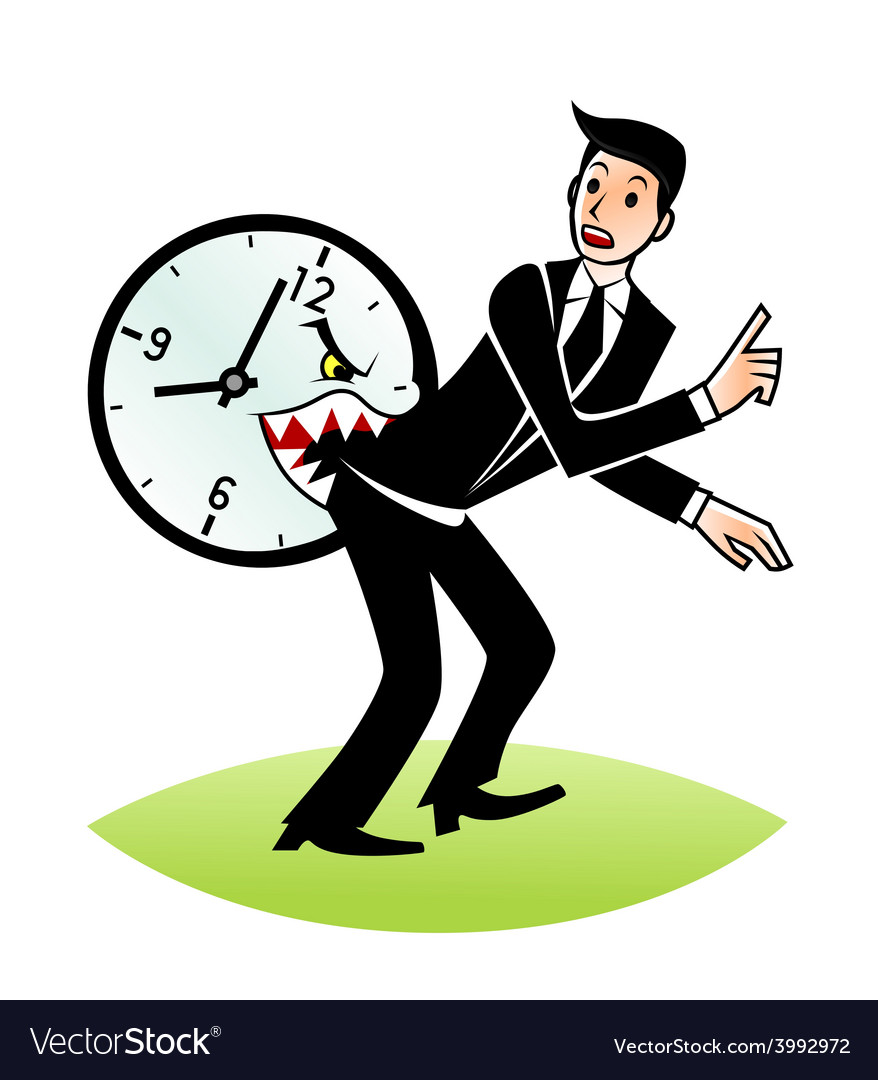 Time bites vector | Price: 1 Credit (USD $1)