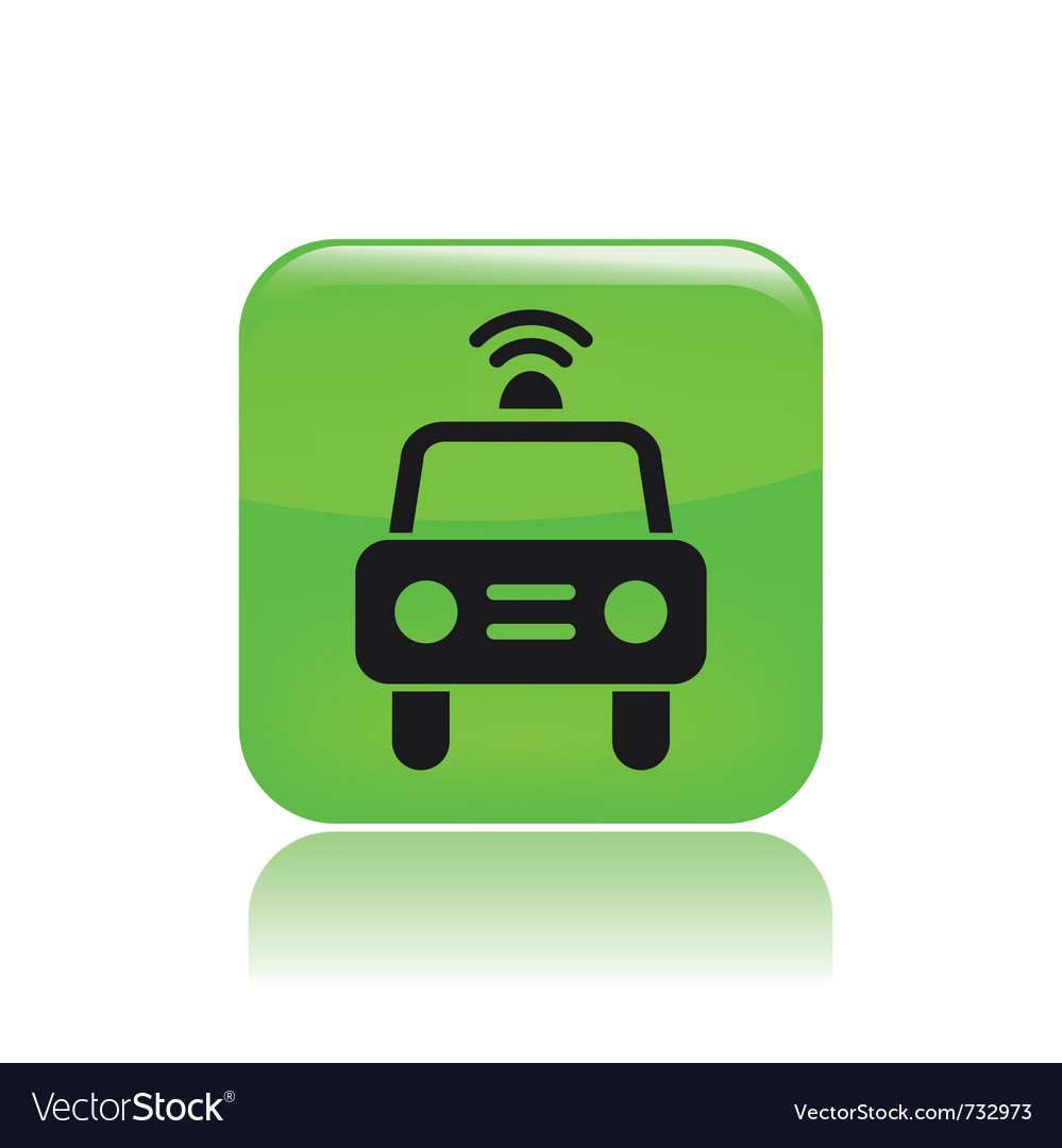Police car icon vector   Price: 1 Credit (USD $1)