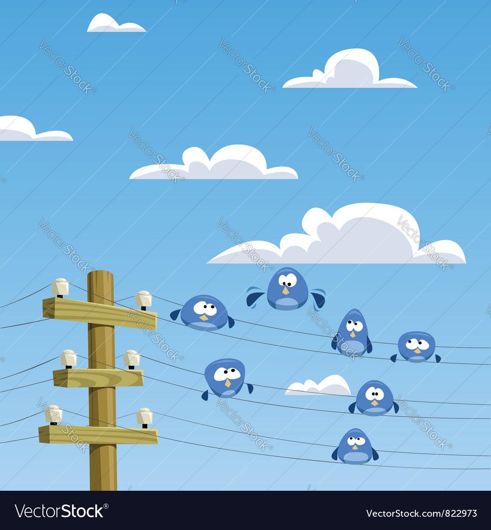 Twitter birds vector   Price: 1 Credit (USD $1)