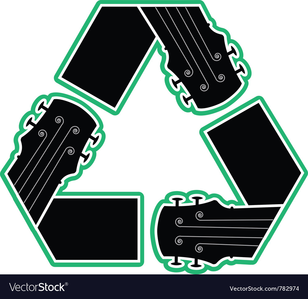 Recycled music vector | Price: 1 Credit (USD $1)