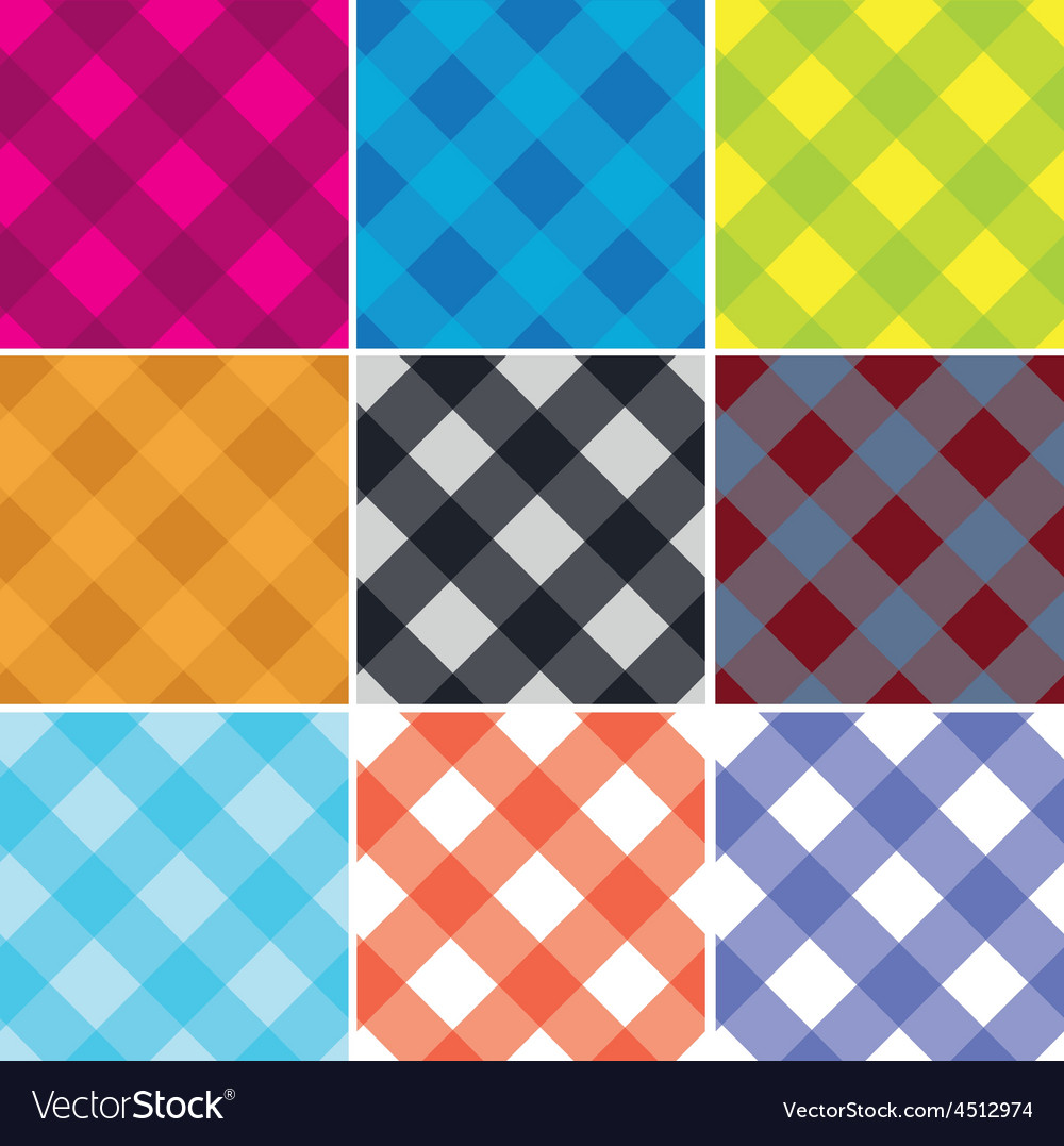 Seamless cross weave gingham pattern vector   Price: 1 Credit (USD $1)