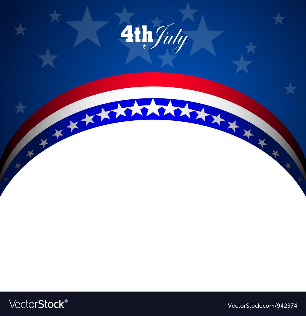 Usa symbolic vector | Price: 1 Credit (USD $1)
