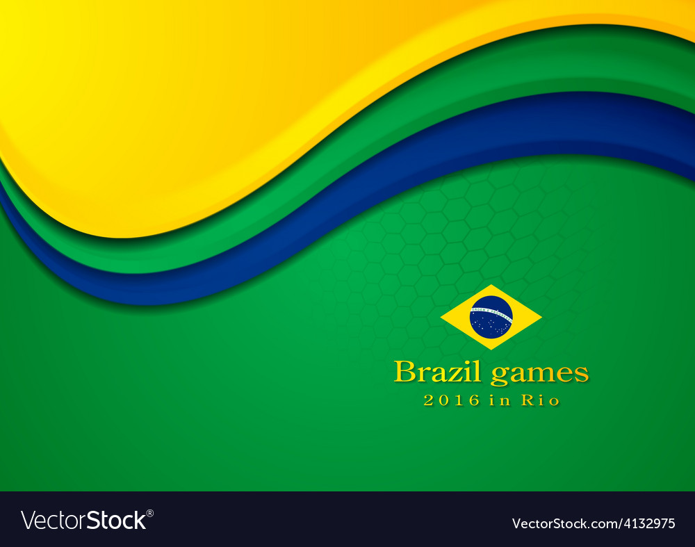 Background in brazilian colors vector   Price: 1 Credit (USD $1)
