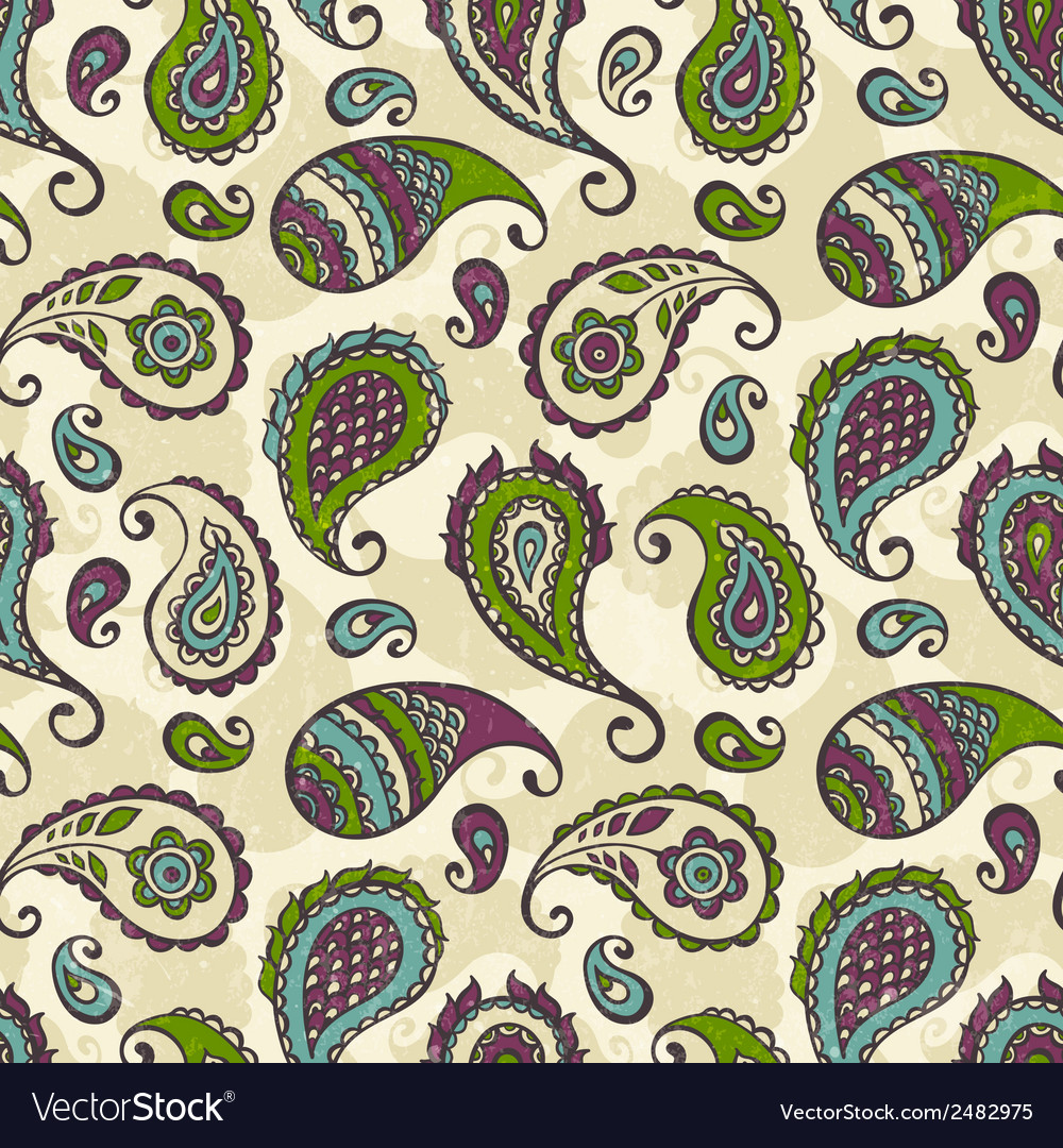 Paisley hand-drawn ornament vector | Price: 1 Credit (USD $1)