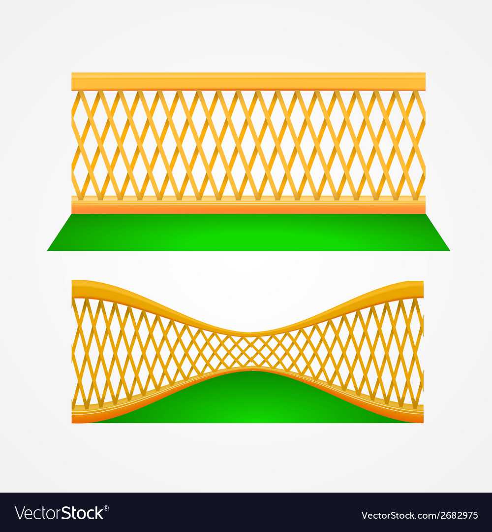 Two garden trellis vector | Price: 1 Credit (USD $1)
