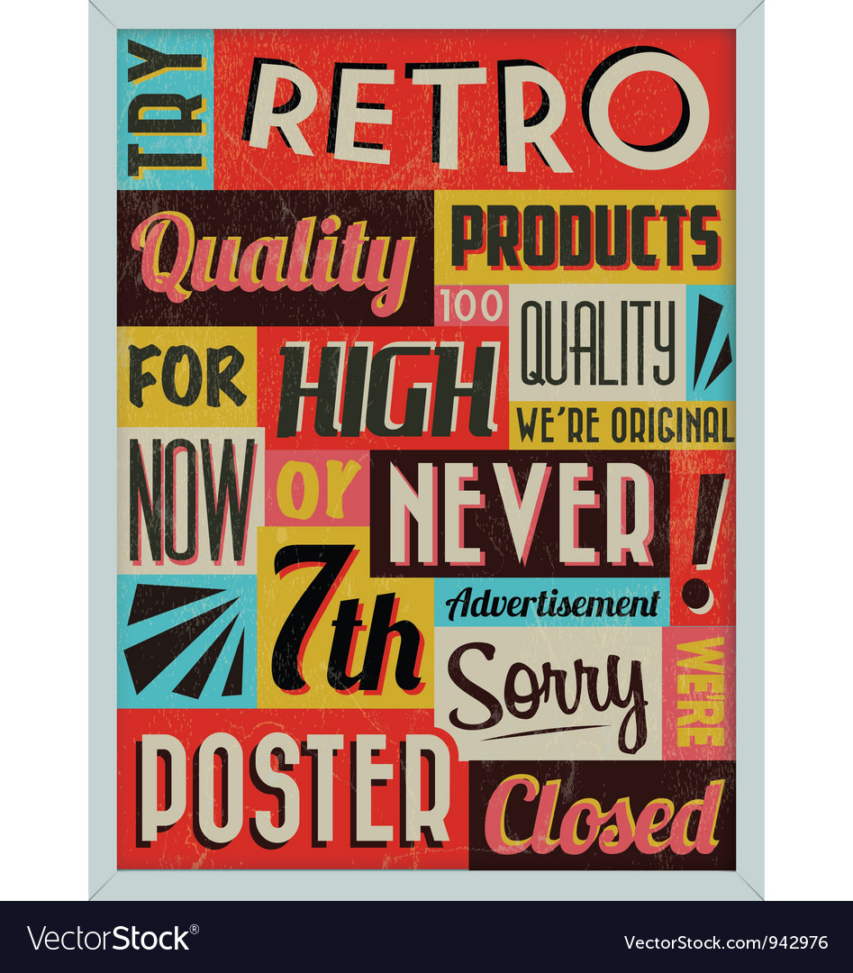 Retro vintage background vector | Price: 1 Credit (USD $1)