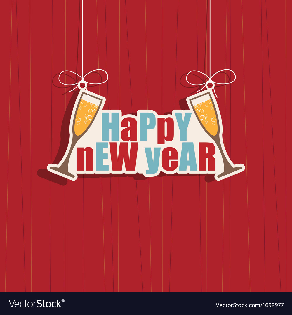 New year decoration vector | Price: 1 Credit (USD $1)