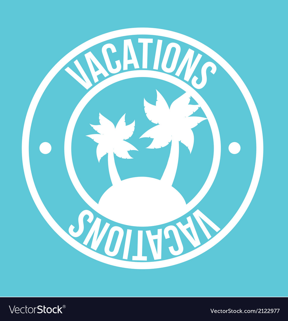 Vacations vector | Price: 1 Credit (USD $1)