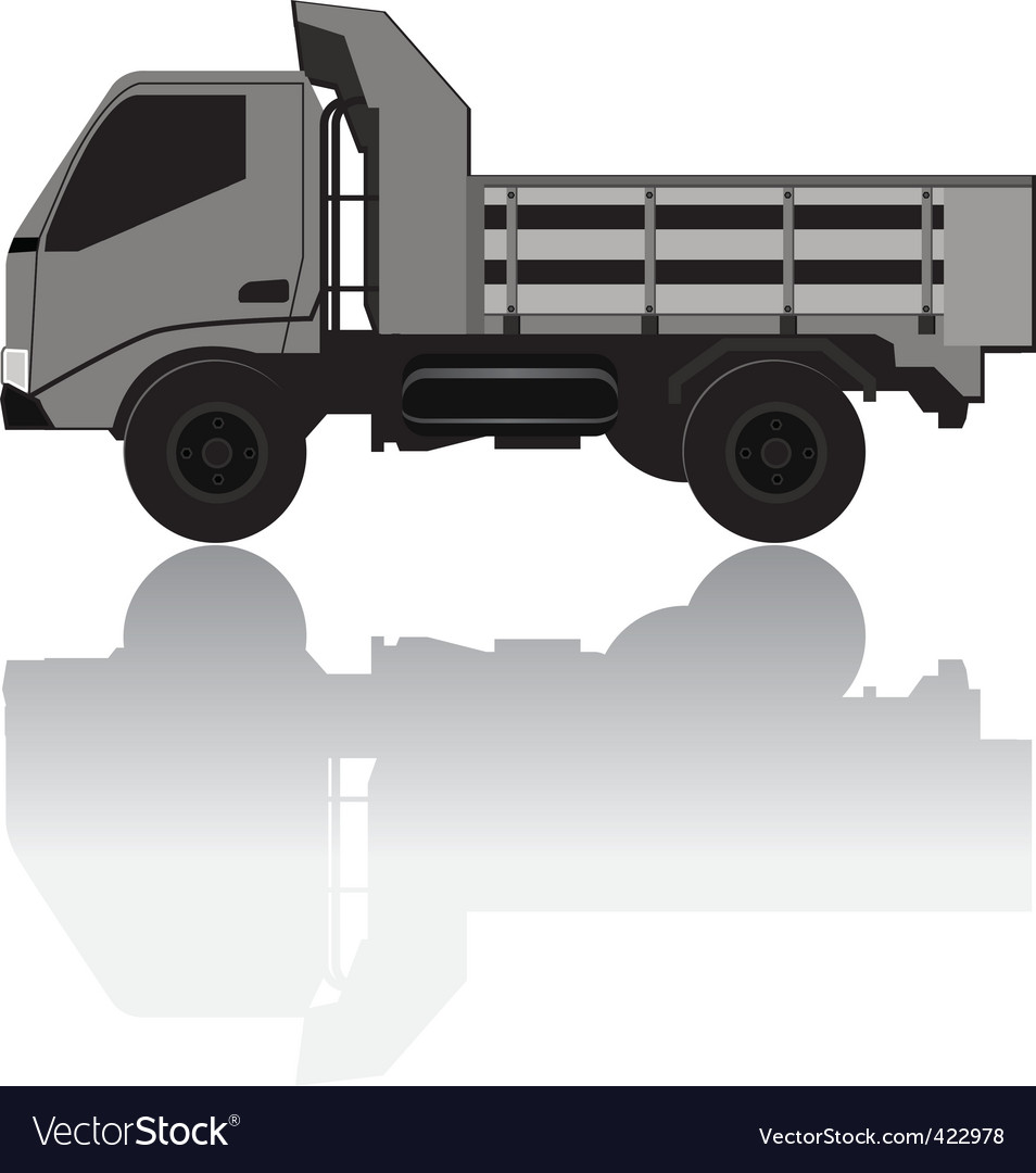 Medium trucks vector | Price: 1 Credit (USD $1)