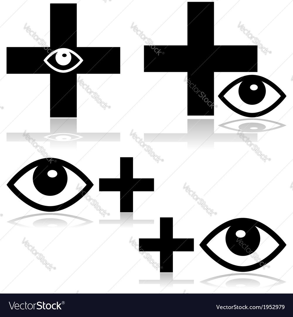 Eye doctor vector   Price: 1 Credit (USD $1)