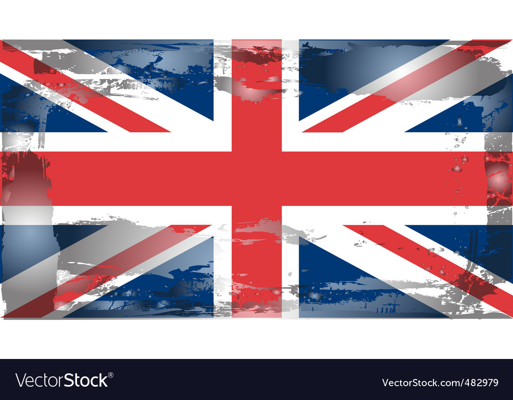 United kingdom national flag vector | Price: 1 Credit (USD $1)