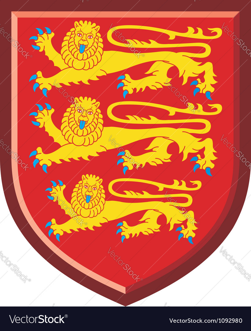 England royal arms vector | Price: 1 Credit (USD $1)