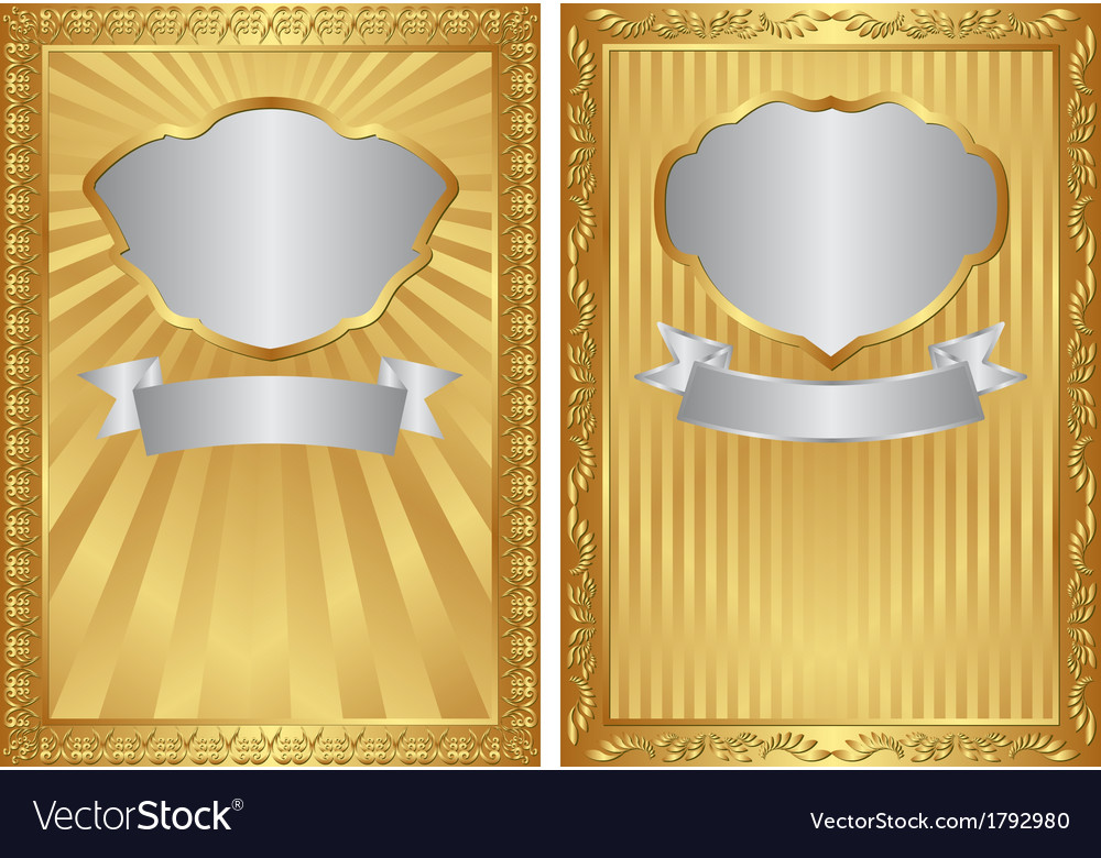 Gold backgrounds vector | Price: 1 Credit (USD $1)
