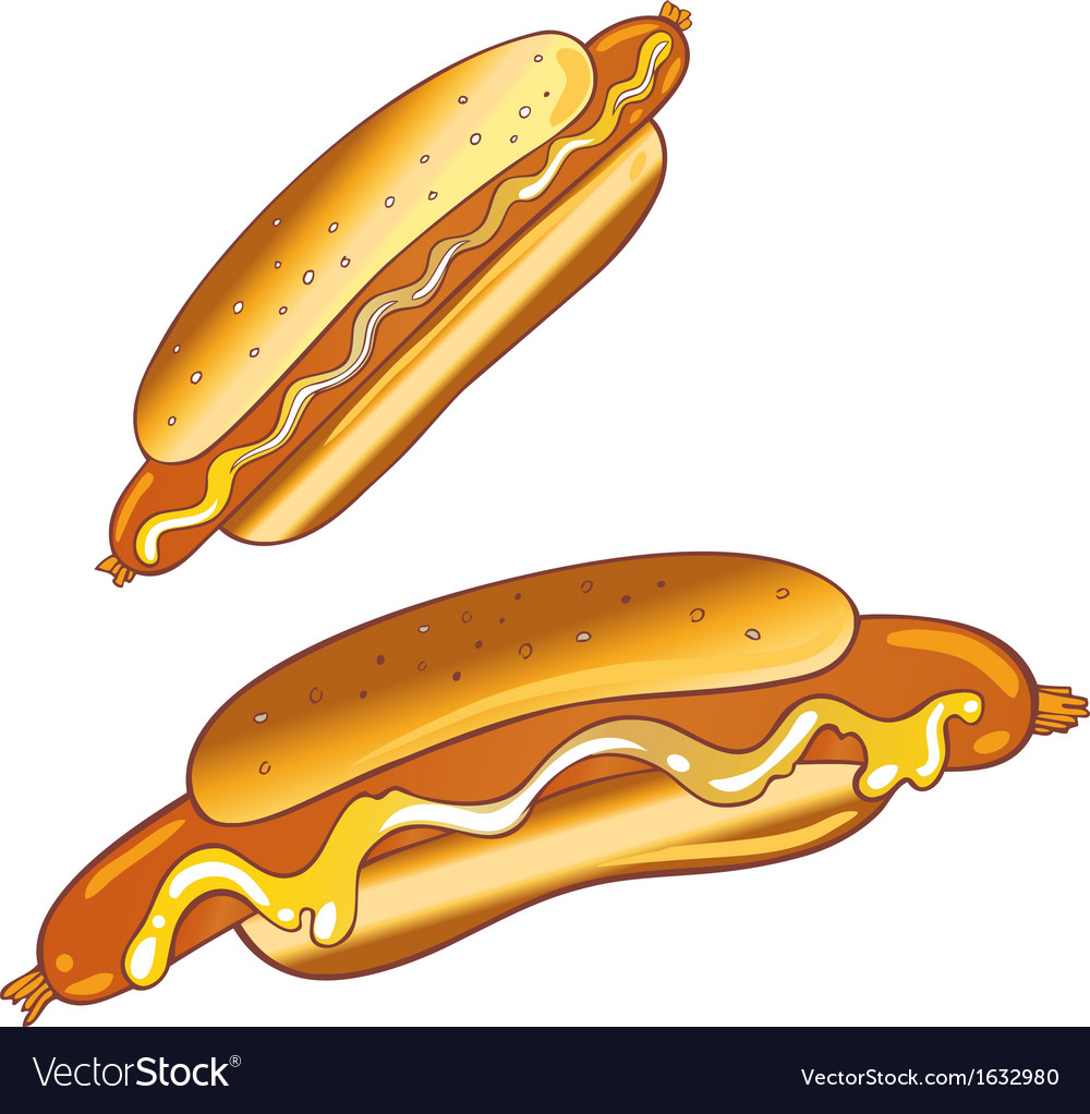 Hot dogs vector | Price: 1 Credit (USD $1)