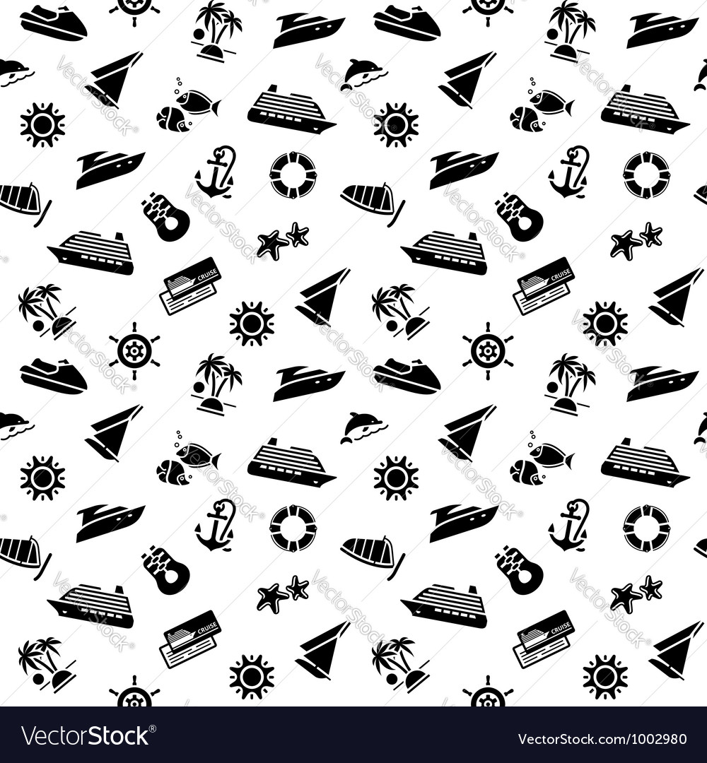 Wrapping paper - transport icons wallpaper 10eps vector | Price: 1 Credit (USD $1)