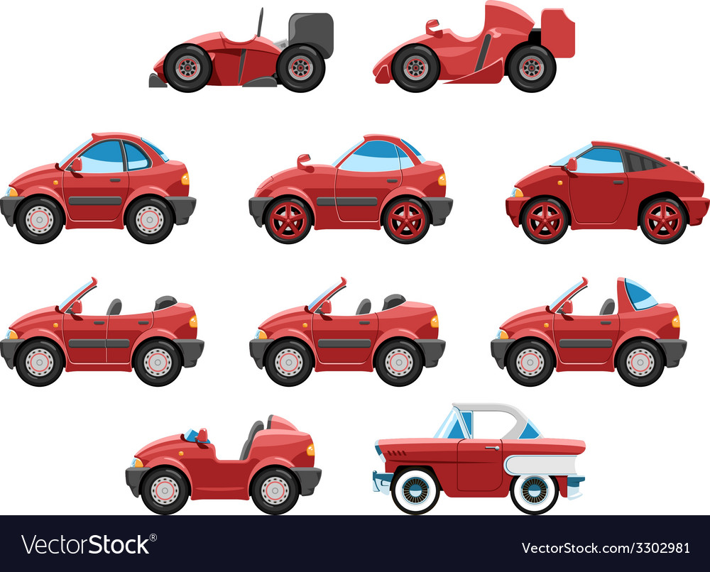 Set of sportcar vector   Price: 1 Credit (USD $1)