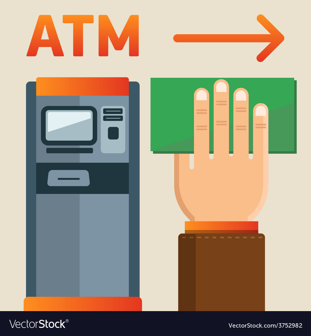 Atm plate vector   Price: 1 Credit (USD $1)