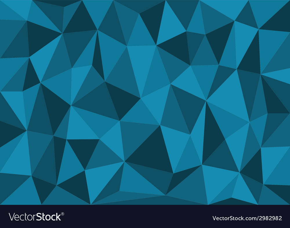 Blue triangles background vector | Price: 1 Credit (USD $1)