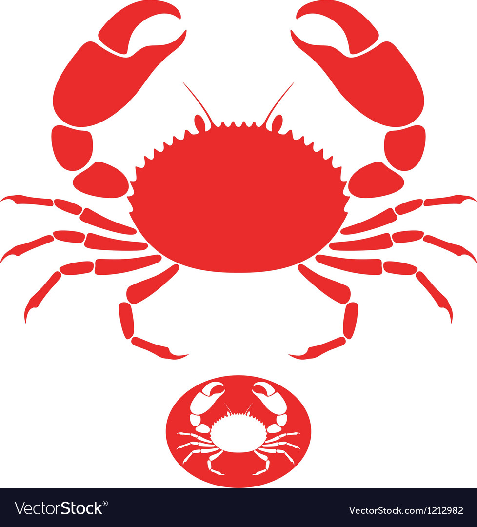 Crab logo vector | Price: 1 Credit (USD $1)