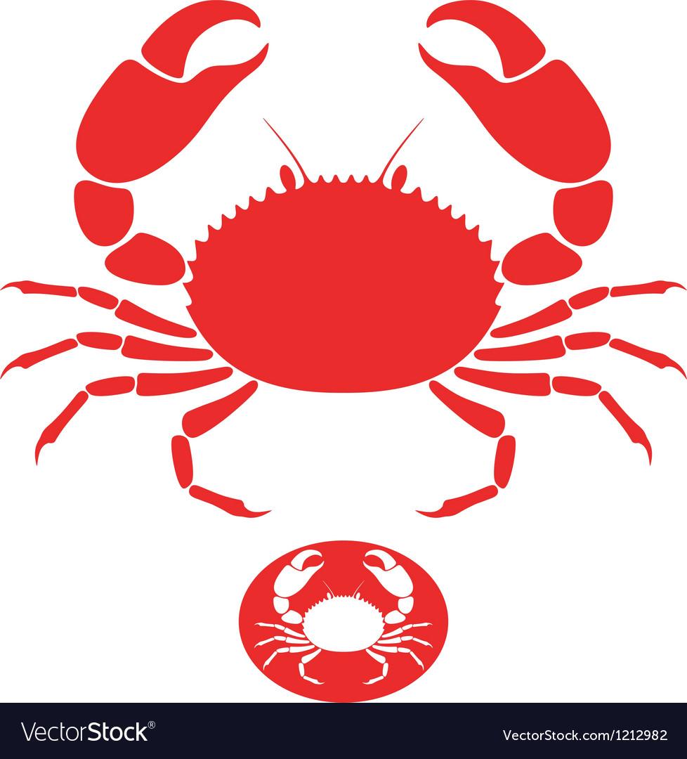 Crab logo vector | Price: 1 Credit (USD $1)