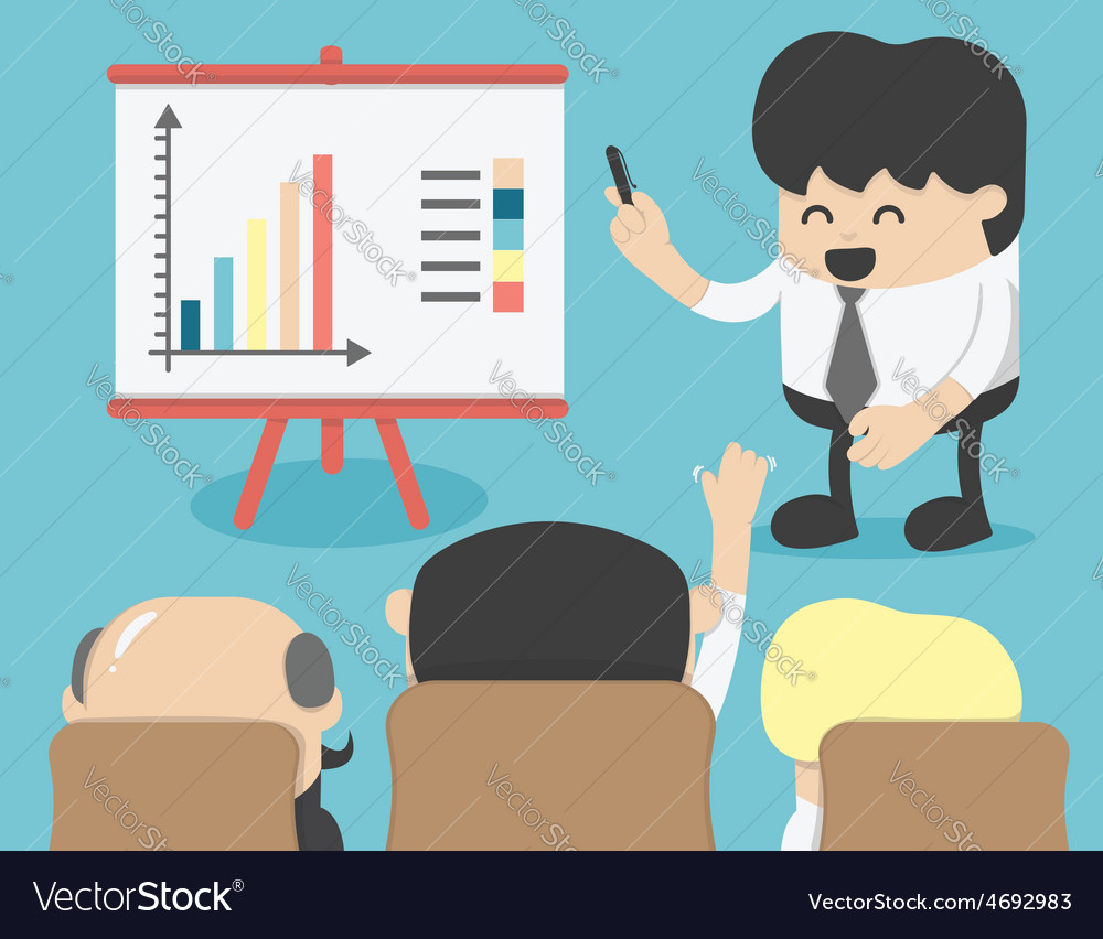Business meeting brainstorming vector | Price: 1 Credit (USD $1)