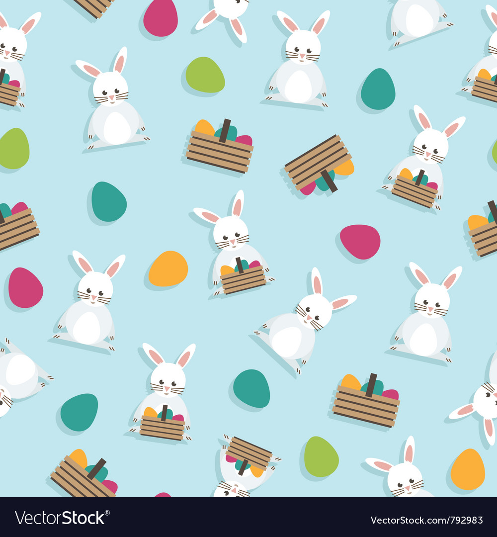 Easter pattern vector | Price: 1 Credit (USD $1)