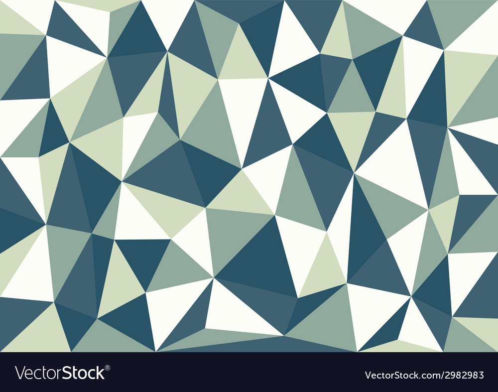 Petrol blue triangles background vector | Price: 1 Credit (USD $1)